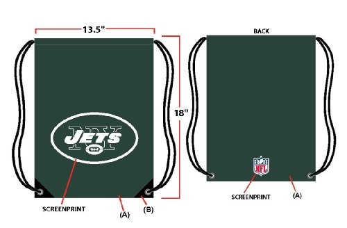 New York Jets Drawstring Backpack at Amazon.com