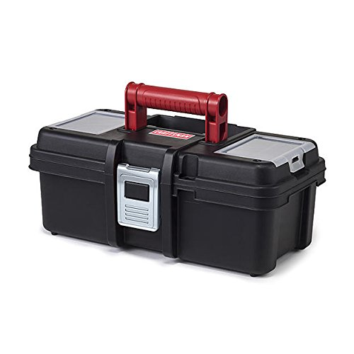 Craftsman 13 Inch Tool Box with Tray - Black/Red (Tool Boxes Craftsman compare prices)
