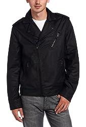 Kenneth Cole New York Men's Moto Waister Jacket