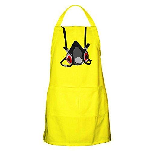 Bullshirt da uomo da cucina gas maschera grembiule con tasca., Yellow, Taglia unica