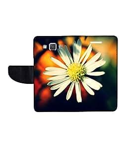 KolorEdge Printed Flip Cover For Samsung Galaxy A5 Multicolor - (50KeMLogo11856SamA5)