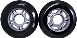 ECX Ripstik Wheels 76mm Black/Silver