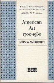 American Art 1700-1960 (Sources & Documents in the...