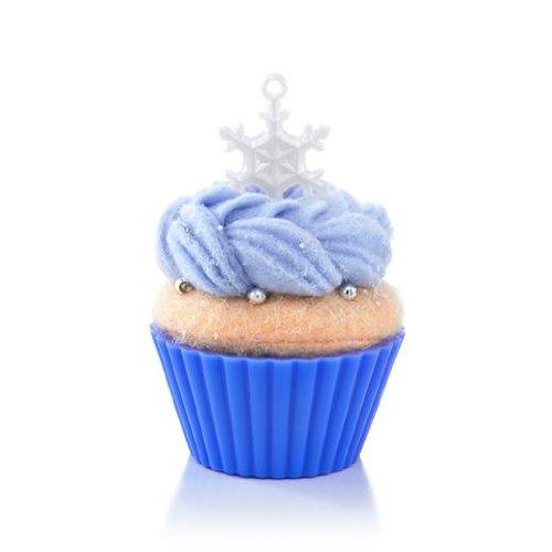 Hallmark Series Ornament 2013 Christmas Cupcakes #4 - It's Snowing Sweetness!