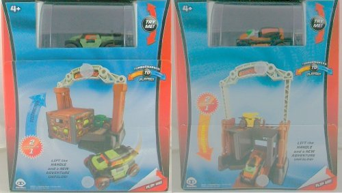 Flip Force Turbocharged to Playset Construction Destruction by Wow Wee