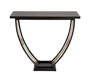 Deco 79 metal wood console table 35 by 32 for 70 inch console table