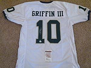 Robert Griffin III Autographed Jersey - Rg3 White - JSA Certified - Autographed... by Sports+Memorabilia