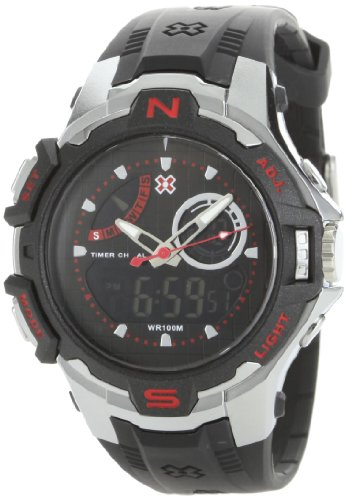 X Games Men's 75527 Analog-Digital Chrono-Alarm Countdown Timer Sport Watch