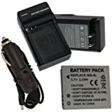 Battery+Charger for Canon PowerShot SD1000 SD1100IS SD1400IS SD200 SD30 SD300 SD400 SD430 SD600