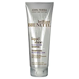 John Frieda Brilliant Brunette Illuminating Liquid Shine Shampoo 250 ml