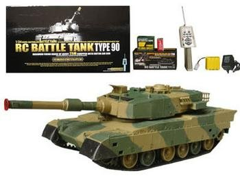 RC Battle Tank Leopard Tank Shoots BB's Radio