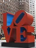 Love Sculpture by Robert Indiana, 6th Avenue, Manhattan, New York City, New York, USA Photographic Poster Print by Amanda Hall, 18x24