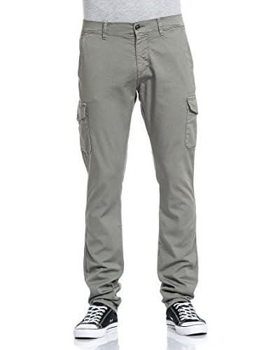 MELTIN'POT Pantalone Spike [Verde Militare]