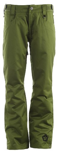 Sessions Brawl Snowboard Pants Olive Mens Sz L
