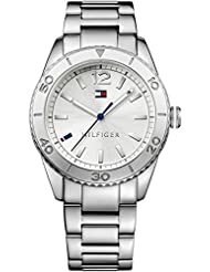 Tommy Hilfiger Women's Th1781267J Casual Sport Analog Display Quartz Silver Watch
