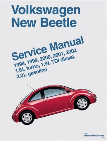 Volkswagen New Beetle Service Manual: 1.8l Turbo, 1.9l TDI Diesel, 2.0l Gasoline