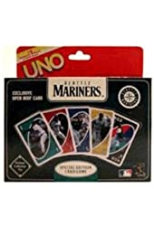 UNO Special Edition Card Game: Seattle Mariners in Collector's Tin