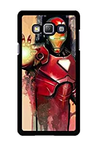 Caseque The Dazzling Iron Man Back Shell Case Cover For Samsung Galaxy A7