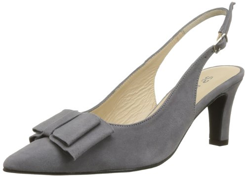 Studio Paloma Women's Sergia Court Shoes Blue Bleu (Ante Marino) 3.5 (36 EU)