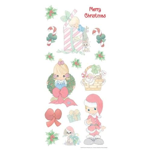 Amazon.com: Precious Moments Stickers MERRY CHRISTMAS For Scrapbooking