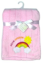 Snugly Baby Little Sunshine Ultra Soft Embossed Plush Blanket
