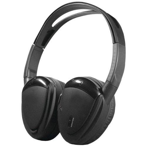 Brand New Power Acoustik Swivel Ear Pad, 2-Channel Rf 900Mhz Wireless Headphones