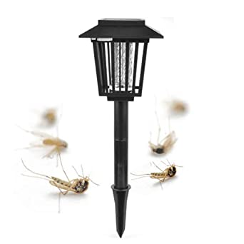 E 3lue lampe solaire led d 39 ext rieur anti moustique for Repulsif moustique exterieur
