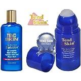 Tend Skin Razor Burn and Ingrown Hair Kit (Tend Skin 4 oz Liquid + Tend Skin Roll-On 2.5oz)