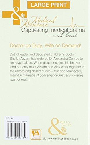 Sheikh, Children's Doctor...Husband (Mills & Boon Largeprint Medical)