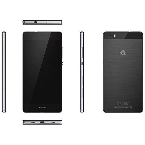 Huawei SIMフリースマートフォン P8 lite 16GB (Android 5.0/オクタコア/5.0inch/nano SIM/microSIM/デュアルSIMスロット) ブラック ALE-L02-BLACK ALE-L02-BLACK