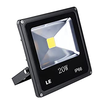 Waterproof, 1500lm, Daylight White, 6000K, Security Lights, Floodlight