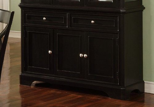 Cheap Contemporary Black Finish Dining Room Sideboard Server (VF_AZ00-28194×29036)