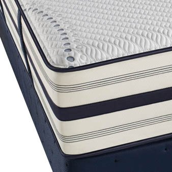 King Simmons Beautyrest Recharge Hybrid Valencia Plush Mattress front-967568