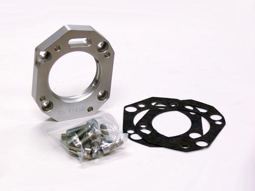 OBX Votex PowerFlow Throttle Body Spacer for K20A/A2/A3/Z1 with RBC/RRB/RBB Intake manifold with Vacuum/Boost Ports for OEM 64mm Throttle Body (K20a3 Intake Manifold compare prices)
