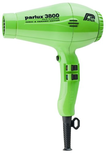 Parlux PAR4182 Professional 3800 Ionic and Ceramic Hair Dryer, Green, 2100 Watt фен parlux parlux 3500 supercompact ceramic ionic red