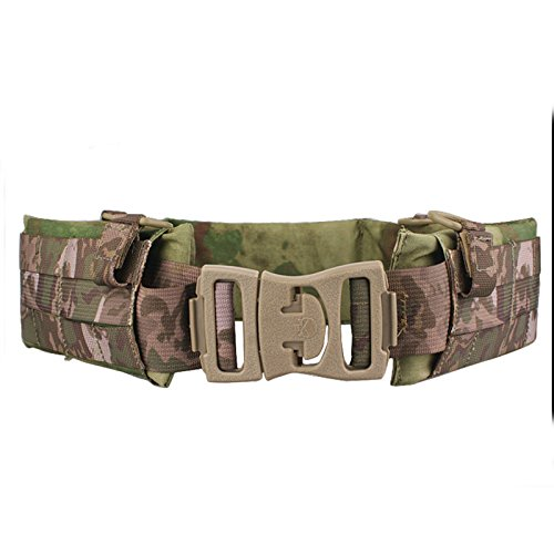 World Shopping EMERSON Tactical Molle Waist Padded Patrol Battle Belt Military Hunting A-tacs FG (Medium) (Emerson Tactical Belt compare prices)
