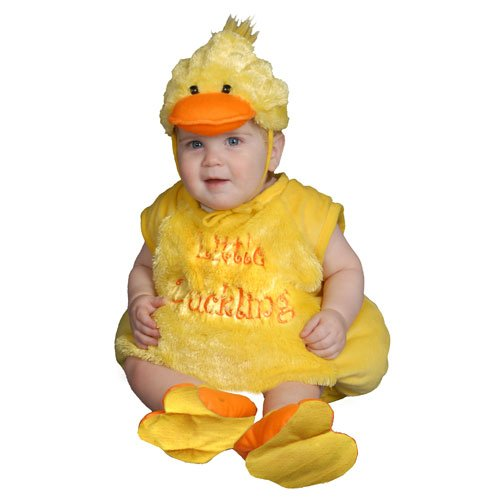 Dress Up America Baby Duckling, Yellow, 6-12 Months - 1
