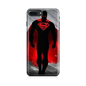Motivatebox-Apple Iphone 7 plus cover-Man Of Steel Walking Polycarbonate 3D Hard case protective back cover. Premium Quality designer Printed 3D Matte finish hard case back cover.