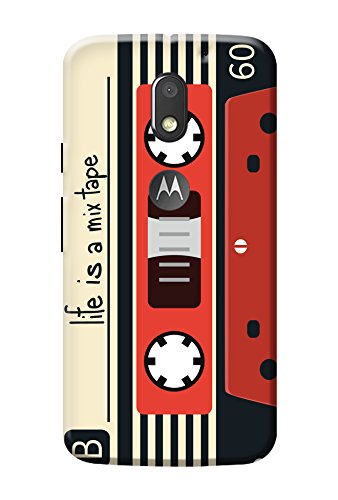 sneakers for cheap 4bef3 d5fe3 Moto E3 Premium Quality Designer Printed 3D Lightweight Slim Matte Finish  Hard Case Back Cover for Motorola Moto E3 Power + Free Mobile Viewing Stand