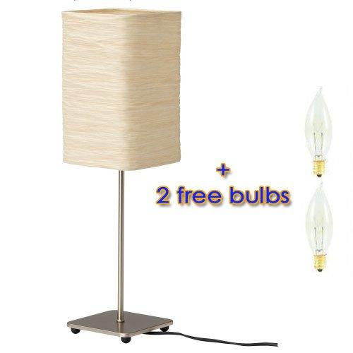 Ikea Magnarp Table Lamp With 2 Free Bulbs Aoomoniiises