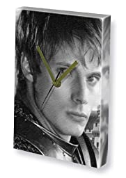 BRADLEY JAMES - Canvas Clock (LARGE A3 - Signed by the Artist) #js005