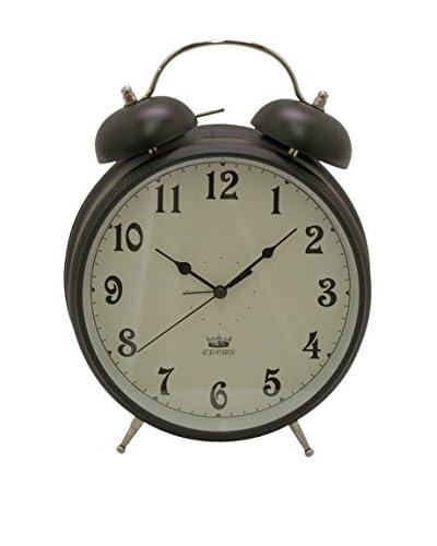 Three Hands Metal Alarm Clock