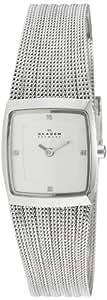 Skagen Damen-Armbanduhr Analog Quarz Edelstahl 380XSSS1