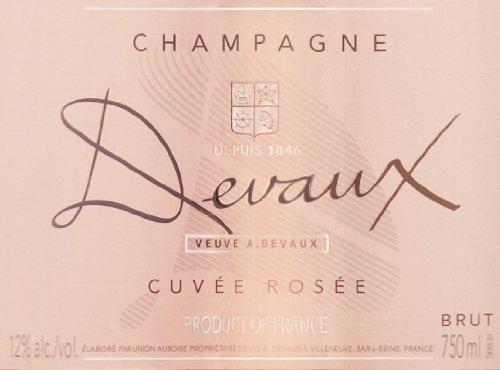 Veuve A. Devaux NV  Cuvee Rose 750 mL