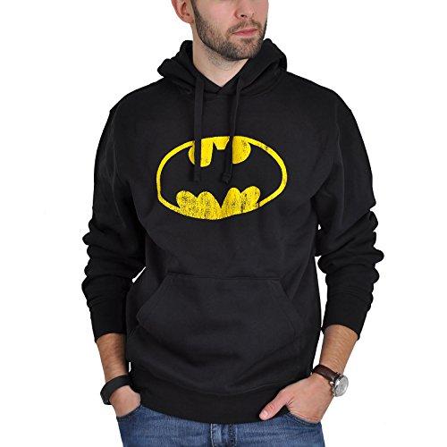 Batman - Felpa con cappuccio di Batman - Nero - XXL