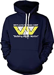 "Weyland-Yutani Corporation ""Building Better Worlds"" Vintage Hoodie from Crazy Dog Tshirts"