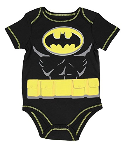 Batman Newborn Baby Boy License Body Suit (12 Months)