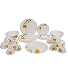 La Opala 19 pc Dinner set Glowing Charm