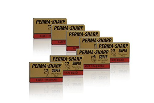 Perma Sharp Super Cutter (40Pack) by The Goodfellas' smile (Perma Sharp Super compare prices)