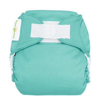 Freetime (Velcro) Aio Diaper With Stay Dry Liner - Mirror front-681052
